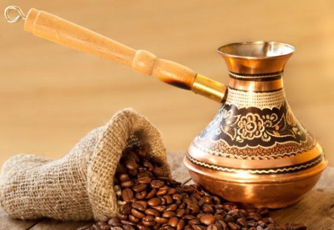 Начинаем варить кофе