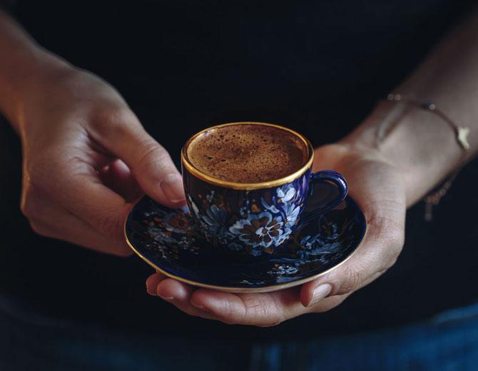 Ароматный кофе готов