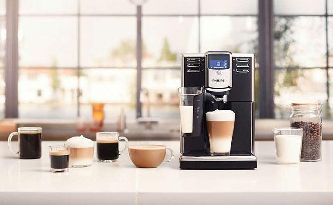 Готовит кофе по любым рецептам