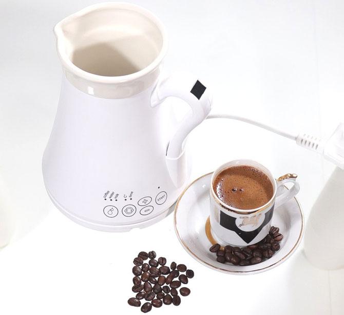 Удобно варить кофе