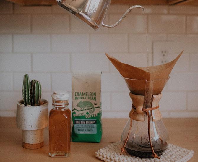 Заваривают кофе