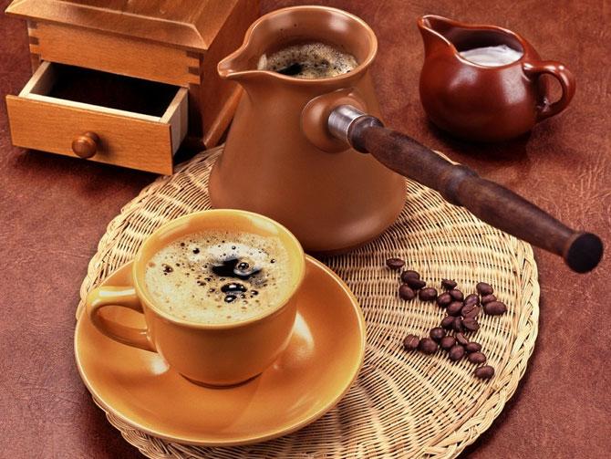 Сварили ароматный кофе