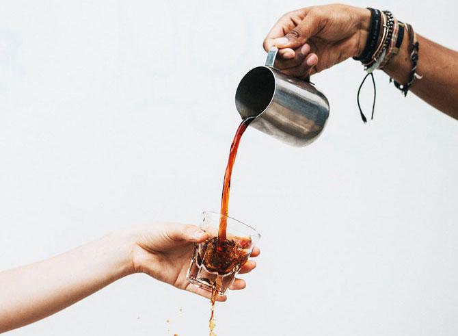 Кофе из сотейника
