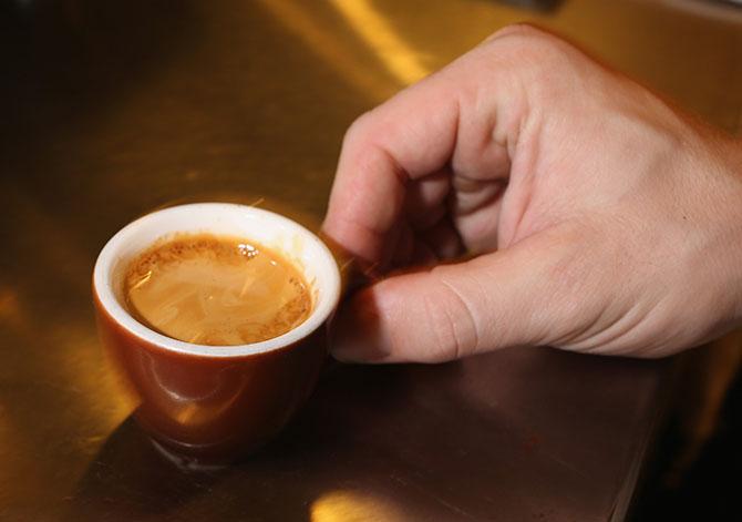 Утро начинается с ароматного напитка