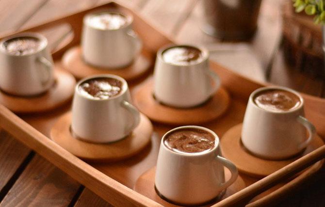 Маленькие чашечки