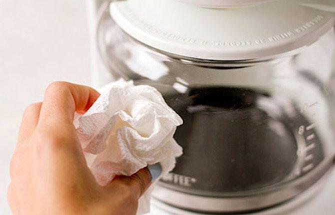 Избавим кофеварку от накипи