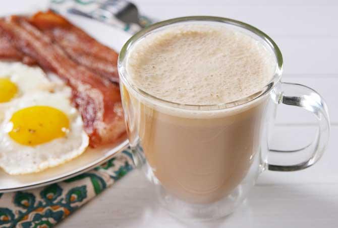 Капучино на завтрак