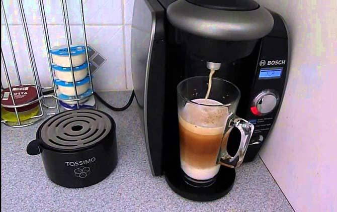 В кофемашине приготовить быстрее