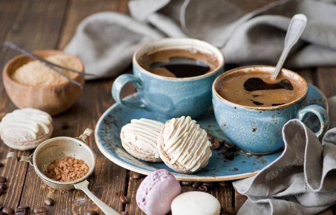 Завтрак со вкусными печенками
