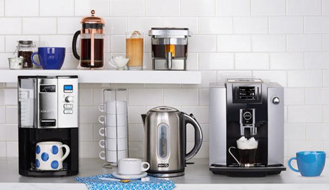 Кофеварки разных моделей