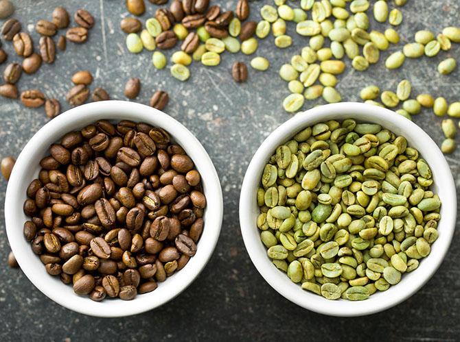 Зеленые зерна очень полезны