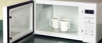Чашки в микроволновке