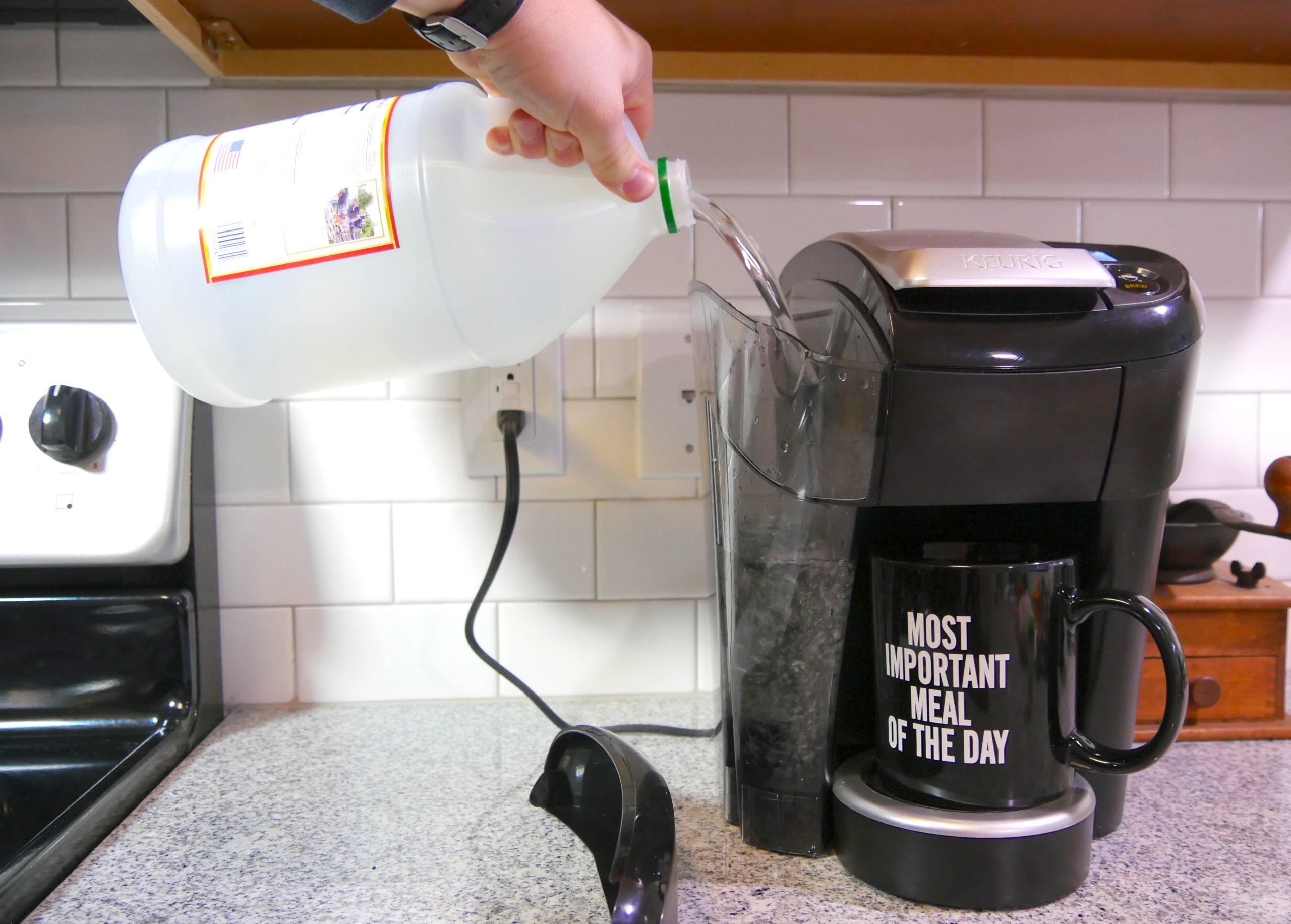 Как очистить кофемашину от накипи и масел