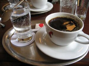кофе и вода пропорции